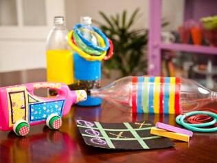 A regra é ser criativo e deixar que as crianças participem da criação dos brinquedos