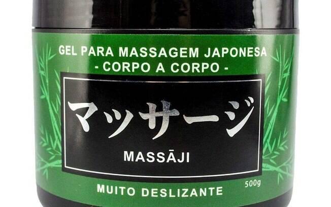 Gel para massagem japonesa