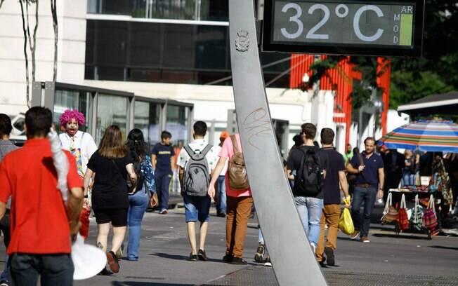 São Paulo terá dia de calor neste sábado