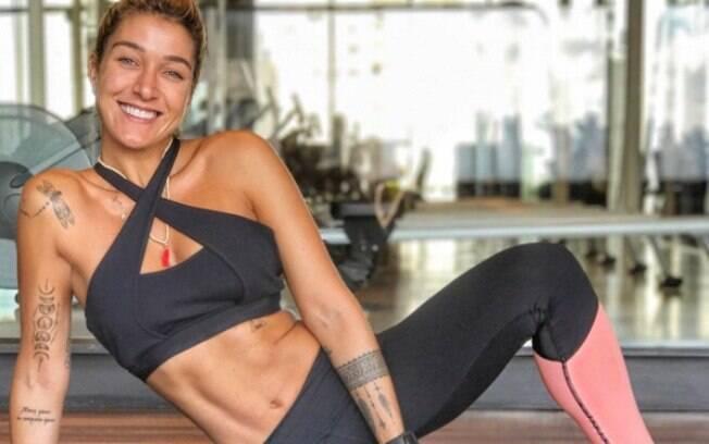 Gabriela Pugliesi tem mais de 3 milhões de seguidores no Instagram e costuma postar fotos de sua rotina saudável