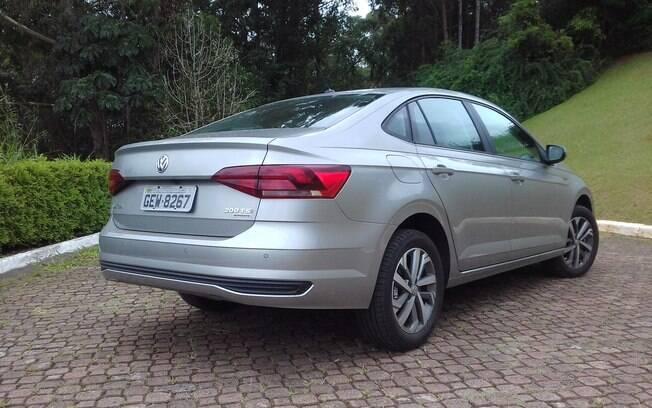 Volkswagen Virtus: devido ao seu posicionamento de preços, tem mais potencial para atacar diretamente o Cobalt, num nicho com menores vendas.