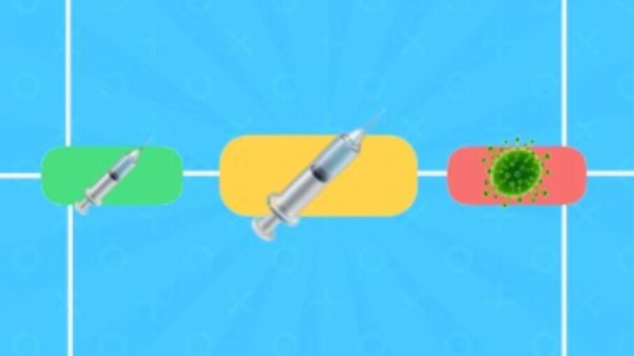 Emoji da seringa é o campeão