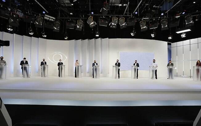 Debate da TV Bandeirantes foi o primeiro a ser realizado.
