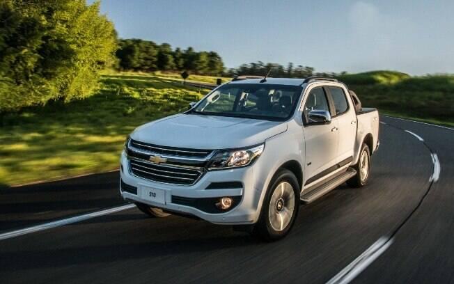 Chevrolet S10: picape concorre com o Ford Ranger, Mitsubishi L200 Triton, Toyota Hilux SW4 e VW Amarok