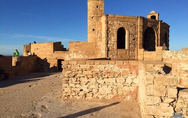 Vista de uma das torres da Medina de Essaouira