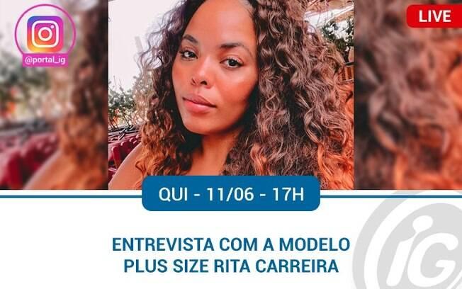 Informações da live de Rita Carreira