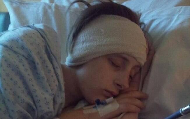 Após receber a notícia de que tinha malformação de Arnold-Chiari, Jodie precisou passar por uma cirurgia