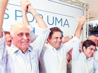 """Proposta. O presidenciável Aécio Neves, propôs """"reestatizar"""" a Petrobras para tirá-la """"das garras do PT"""""""
