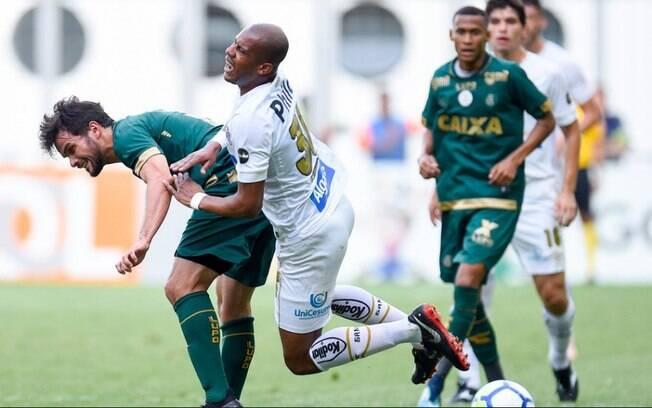 Santos viajou a Belo Horizonte e perdeu do América-MG na 35ª rodada do Brasileiro