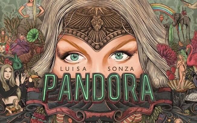 capa do álbum de Luísa Sonza
