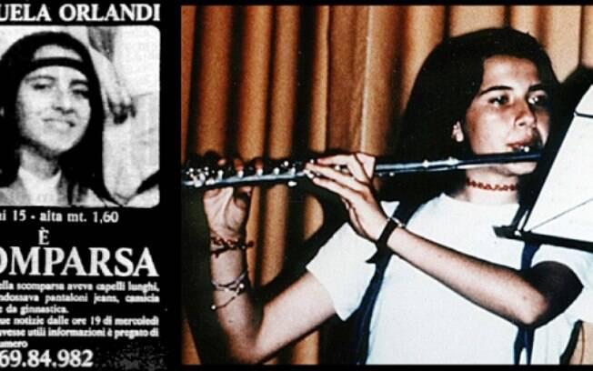 Emanuela Orlandi desapareceu em 1983, quando tinha 15 anos