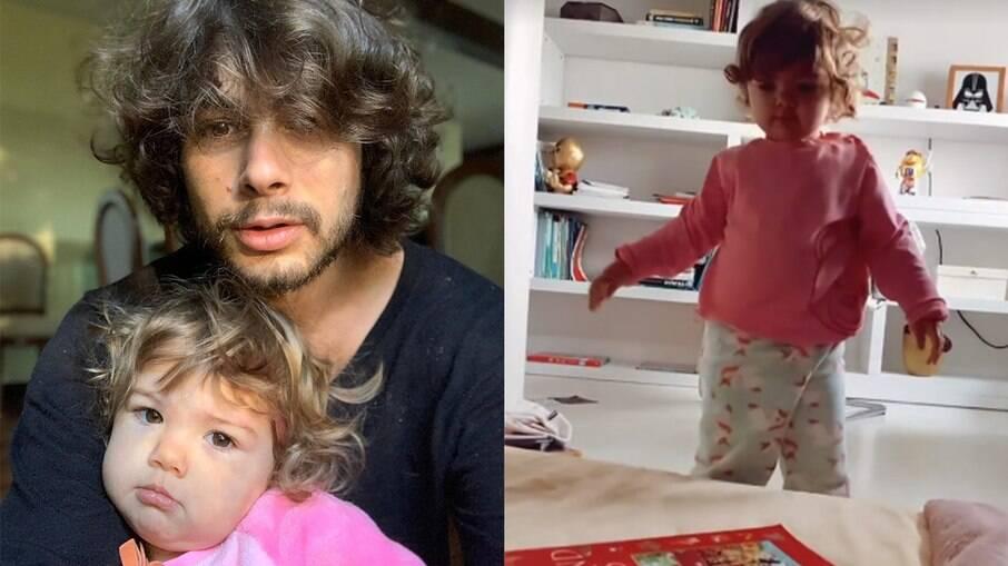 Rafa Vitti posta vídeo engraçado de Clara Maria