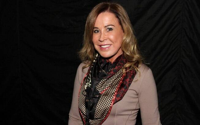 Zilu Camargo no show de Zezé Di Camargo e Luciano