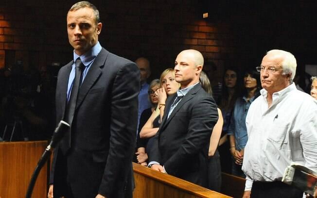 Oscar Pistoris matou a tiros a namorada Reeva Steenkamp. Foto: AP