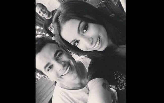 Anitta com Anderson Di Rizzi