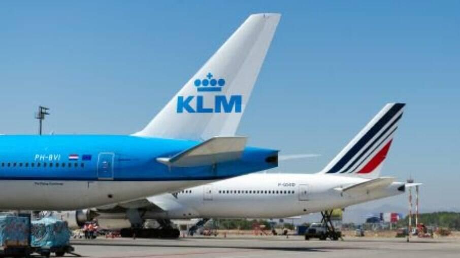 Avião da Air France-KLM