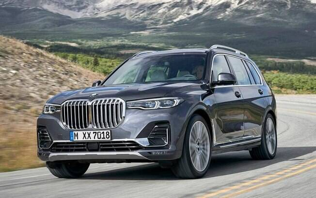O BMW X1 é o menor SUV da marca alemã, ao contrário do X7, o maior, que tem chances de vir ao Brasil