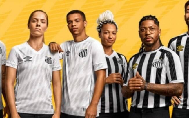 Santos divulga novos uniformes