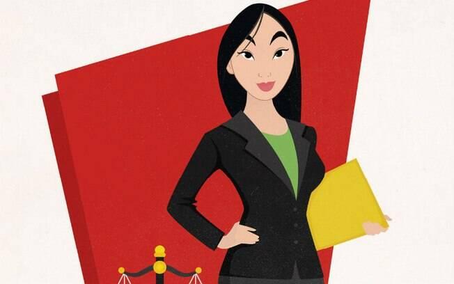 Depois de ela mesma sofrer preconceito, Mulan virou advogada e hoje luta pela igualdade de gênero