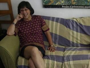 O cartunista Laerte Coutinho causou polêmica ao entrar vestido de mulher no banheiro feminino de uma pizzaria em São Paulo