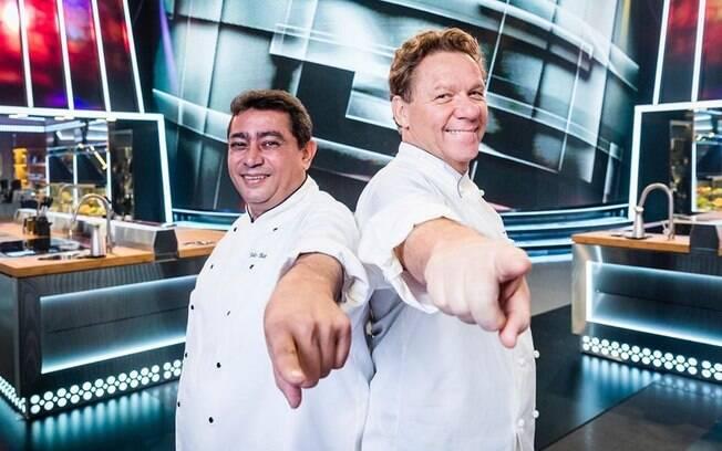 Claude Troisgros e Batista são alguns dos nomes à frente do novo reality show culinário da TV Globo