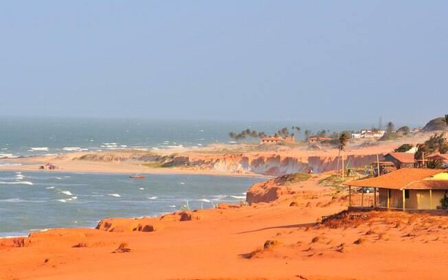 Canoa Quebrada é um importante destino turístico no Ceará
