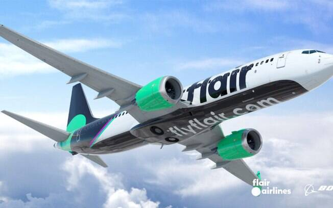 Flair Airlines é a quarta aérea canadense a comprar Boeing 737 MAX