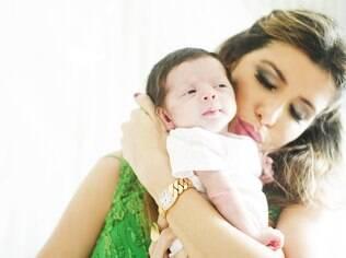 Sophia nasceu no dia 7 de novembro