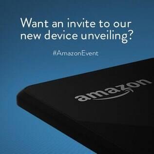 Amazon colocou no Twitter uma misteriosa imagem do seu novo dispositivo, a ser lançado no dia 18 de junho
