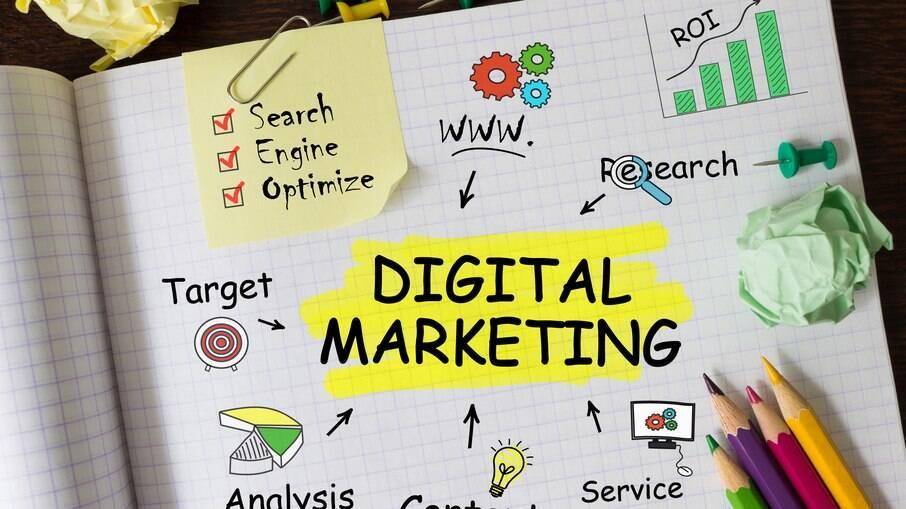 Marketing digital promove ações de comunicação para empresas na internet