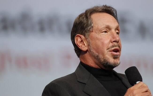 Filho de uma mãe solteira, Larry Ellison, co-fundador da Oracle, superou as dificuldades da infância pobre e hoje tem uma fortuna de US$ 46,7 bilhões. Foto: Stephen Lam/Getty Images