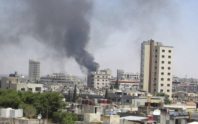 <b>Síria</b> está em <b>guerra civil</b>, diz chefe das forças de paz da ONU <b>...</b> 2014