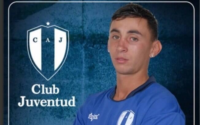 Gabriel González, jogador do Juventud de Las Piedras, do Uruguai, sofreu acidente de moto