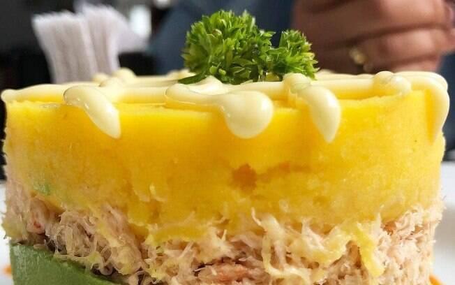 Causa Rellena é um prato delicioso da culinária peruana