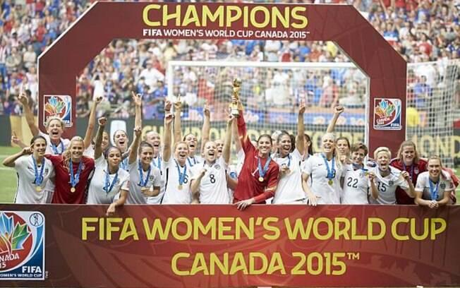 Seleção feminina dos EUA é a atual campeã mundial