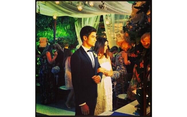 Carol Castro e Raphael Sander se casam nesta sexta-feira (14)