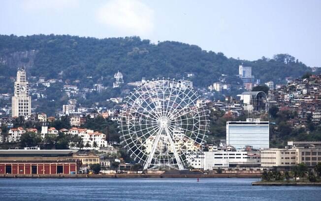 roda-gigante no Rio de Janeiro