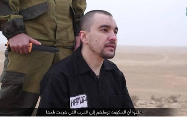 Por enquanto, nem a autenticidade do vídeo nem a identidade da vítima do Estado Islâmico foram confirmadas por Moscou