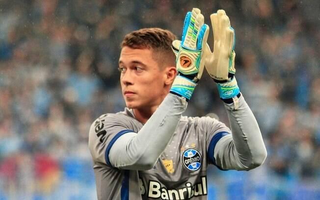 Jovem goleiro Brenno é o camisa número 24 do Grêmio