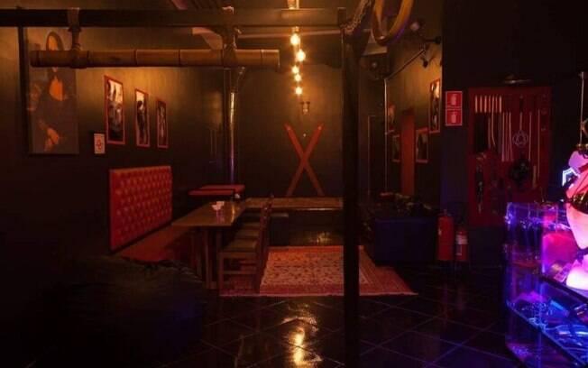 O Bar Dominatrix na Augusta, em São Paulo