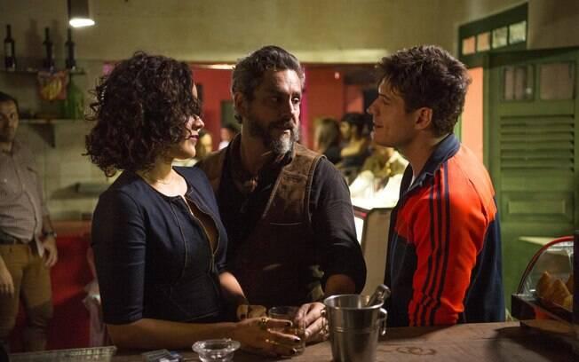 tensão entre Nonato e pedro dará o tom para o suspense que se estabelecerá nos próximos episódios de