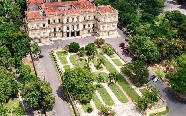 Museu Nacional foi casa da Família Imperial desde o Primeiro Reinado