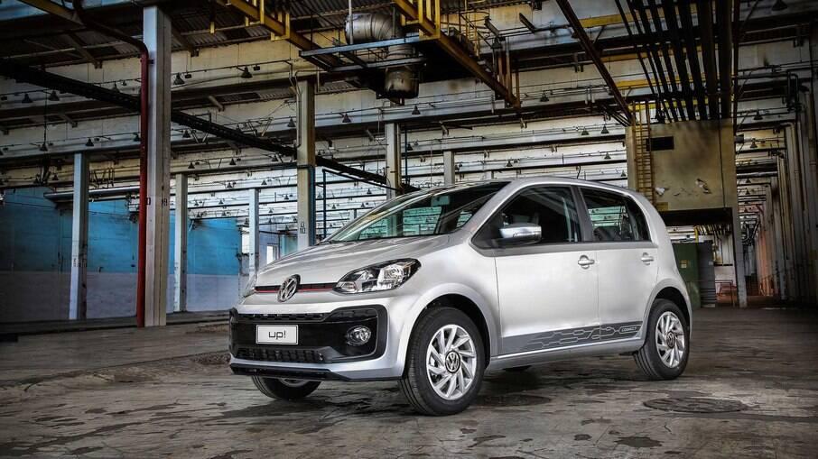 VW Up!: subcompacto anda bem e gasta pouco, além de ser seguro, mas o preço acabou assustando os brasileiros