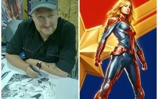"""Ilustrador da DC Comics critica filme """"Capitã Marvel"""": """"uma desgraça"""""""