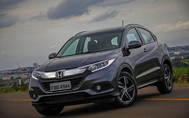 Honda HR-V 2019: faróis em LED e novas rodas conferem um visual mais esportivo