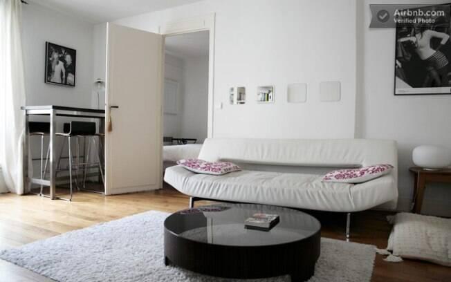 Apartamento de dois quartos em Paris tem diárias a partir de R$ 240 pelo site AirBnB