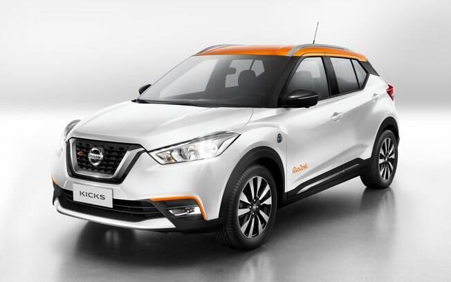 As primeiras 1.000 unidades do Nissan Kicks serão da série especial Rio 2016, vendida apenas por pré-venda via internet.