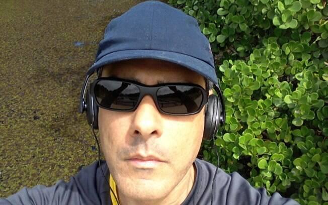 William Bonner mostrou em seu Twitter uma foto de sua corrida matinal