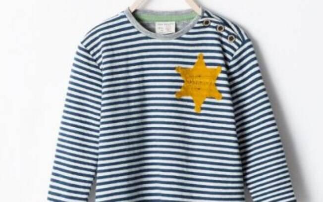 Reprodução do site israelense Haaretz: para a publicação, roupa da Zara é uma