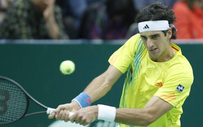 Thomaz Bellucci jogou a final do ATP 250 de  Moscou neste domingo